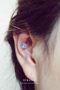 16g Teardrop Cartilage Earring Helix Conch Ear Piercings Earrings