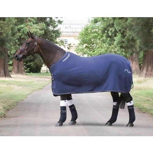 Shires Tempest Original Fleece Show Rug Navy bluee 6'6