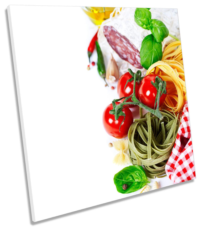 Imagen De Pasta Pasta Pasta Italiana De Cocina Alimentos LONA parojo arte cuadrado de impresión a8c41b