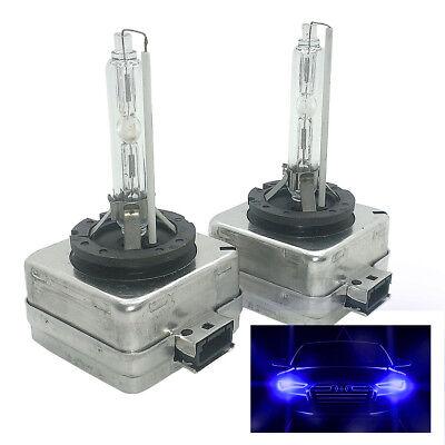 2x HID Xenon Headlight Bulb 10000k Blue D1S Fits BMW 1 3 5 7 X1 X3 AMD1SDB10BM