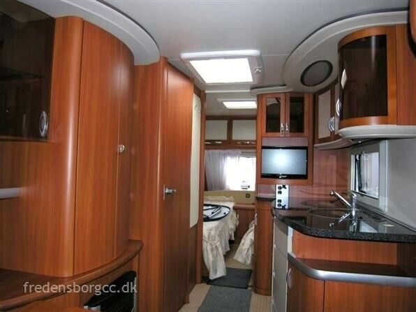 Hobby Prestige 540 UL, 2009, kg egenvægt 1221