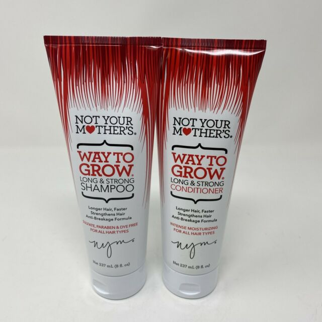 Not Your Mother's Shampoo & Conditioner Set 8oz Way to Grow Long & Strong Nouris