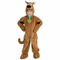 Scooby Doo Boys Toddler & Kids Child Size Cartoon Dog Plush Jumpsuit Costume