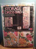 Whitmor Prestige Spring Bouquet Storage Dress Bag Usa