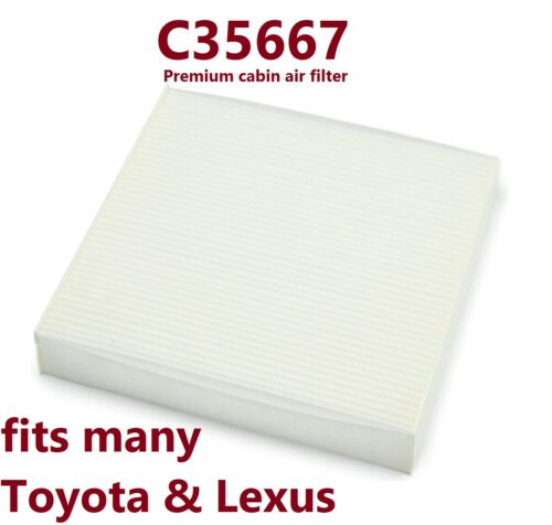 PACK OF 6 Cabin Air Filter for many Toyota /& Lexus Vehicles C35667
