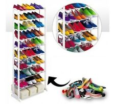 Amazing Shoe Rack Portable With 10 Layer Foldable - 30Pairs