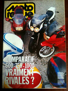 >n°2943 Moto Revue Comparatif 600-750-1000 Rivales ?