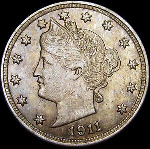 1911-Liberty-V-Nickel-STUNNING-W072