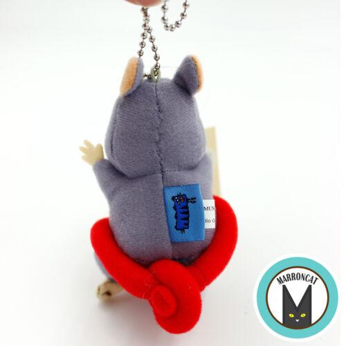 Japan Studio Ghibli Museum Mitaka Short Film Nezumi no Sumo Mouse Plush Keychain