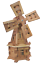 Wooden-Garden-Windmill-Large-85-cm-235-cm-Wood-Windmills-Garden-Ornaments thumbnail 13
