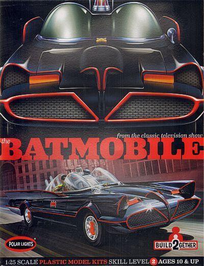 Polar Luci 1/25 Batmobile Confezione da 2 #907
