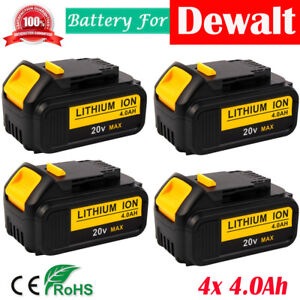 4X-For-Dewalt-DCB204-2-20V-20-Volt-Lithium-Battery-Max-XR-4-0Ah-DCB205-DCB200-2