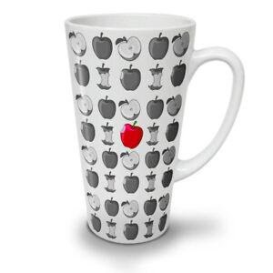 Red Apple Food Fashion NEW White Tea Coffee Latte Mug 12 17 oz | Wellcoda