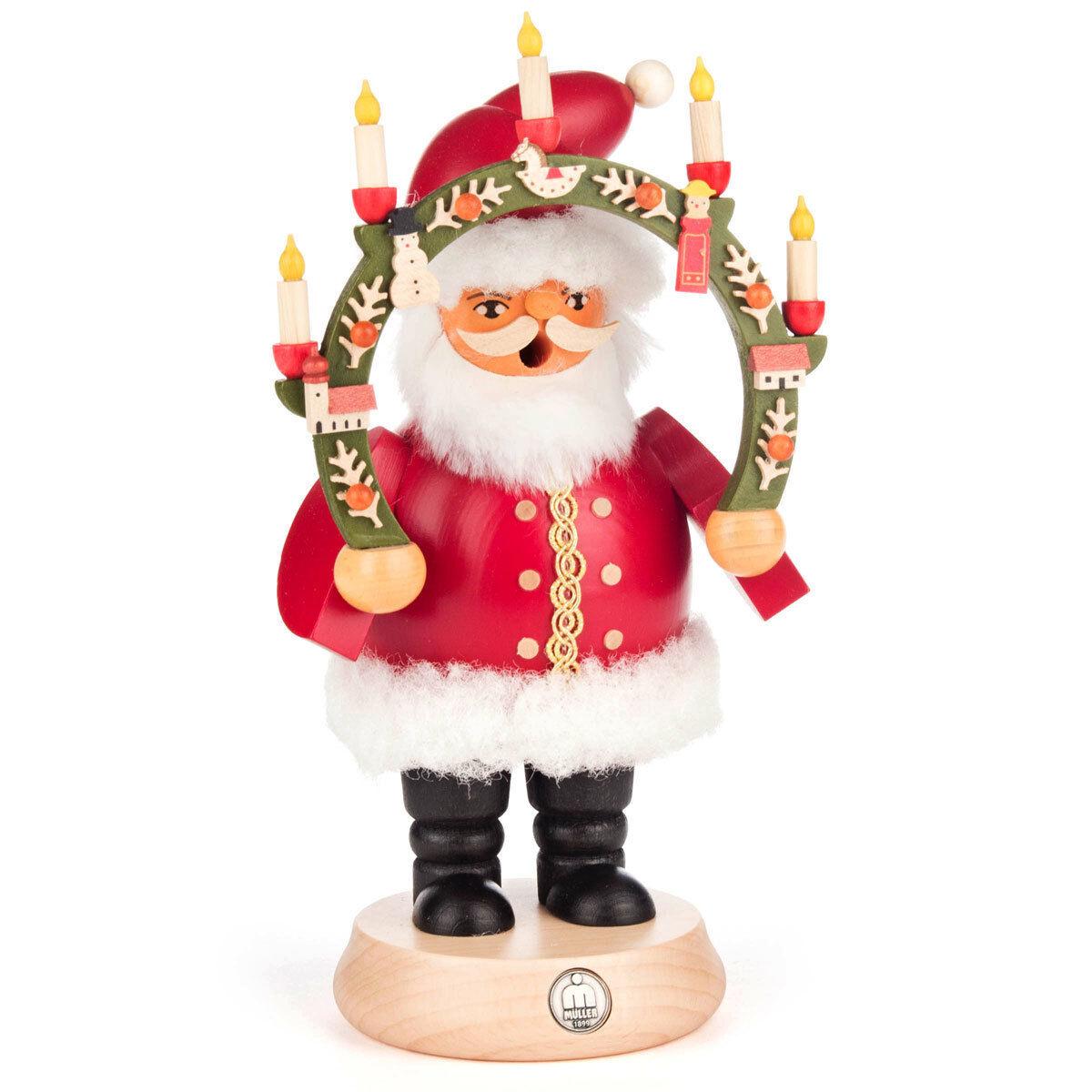 Candle Arch Santa Santa Santa German Smoker SMD146X1239 be1fd1