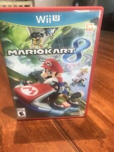 Mario Kart 8. Wii U. Nintendo. Tested Works. Free Shipping