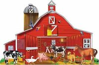 Melissa And Doug Farm Friends 32 Pc Floor Puzzle , New, Free Shipping