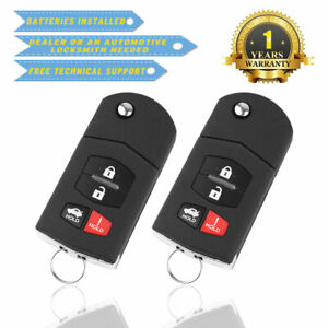2-For-Mazda-3-2010-2011-2012-2013-Keyless-Entry-Remote-Car-Key-Fob-Replacement