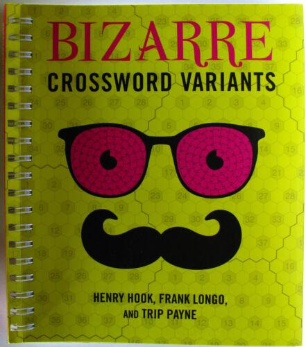 1 of 1 - #JJ14, H Hook F Longo T Payne BIZARRE CROSSWORD VARIANTS, SC LN