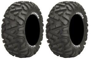 Pair of Maxxis BigHorn Radial 26x9-12 ATV Tires 2