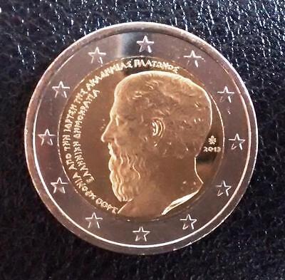 #1242 Greece 2 euro 2013 Platonic Academy UNC
