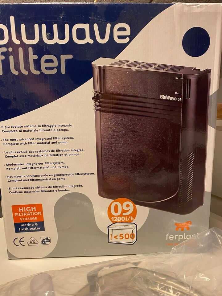 Filter, 500 liter