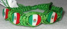 SLG Mexico Beautiful Handmade Adjustable Hemp/Rope Bracelet 3 Colors (1 Piece)