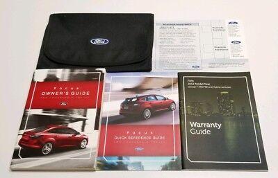 ford focus owners manual titanium sel se
