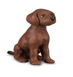 Irish Red Setter Welpe 4 cm Hunde und Katzen Collecta 88069