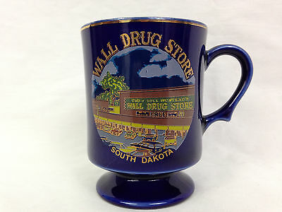 Wall Drug Store Coffee Mug South Dakota Badlands Tea Cup Purple Pharmacy Vintage