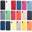 Para-Apple-iPhone-XS-Max-XR-6-7-de-8-PLUS-de-silicona-suave-cubierta-estuche-original-de-Fabricante miniatura 1
