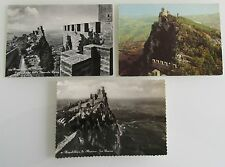 3x Republik SAN MARINO Postkarten Postcards Lot ungelaufen unused ca. ab 1960