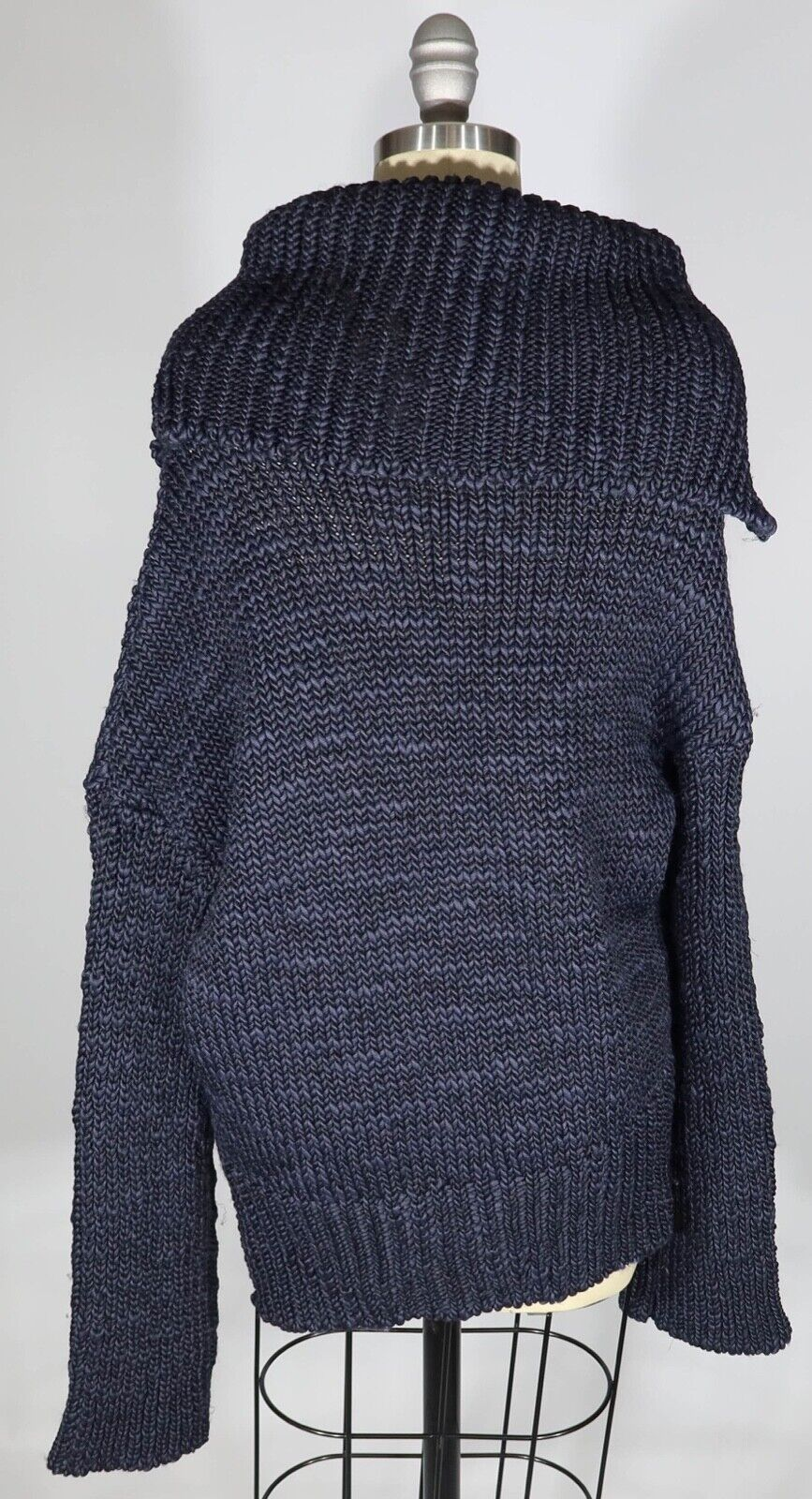MS MIN 4/S US  Heavy Chunky Knit Off The Shoulder… - image 3