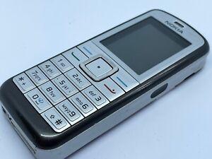 Nokia 6070-Silber (entsperrt) Handy (guter Zustand)