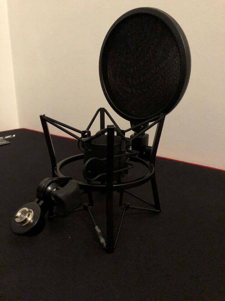 shock mount og pop filter, Gear4Music