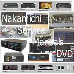 nakamichi service manuals dvd cassette deck schematics hifi audio rh ebay com Nakamichi Logo Nakamichi Logo