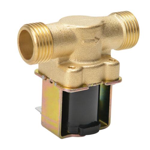 """N//C Magnetventil DC 12V Elektrisch Wasserventil G 1//2/"""" für Wasser Einlass DE Neu"""