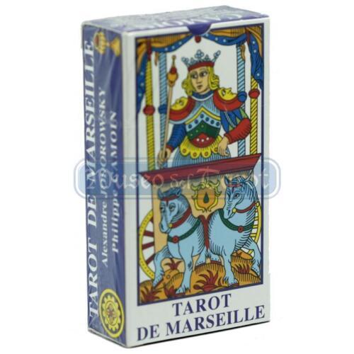 Alejandro Jodorowsky /& Philipe Camoin Tarot de Marsella Tarot de Marseille