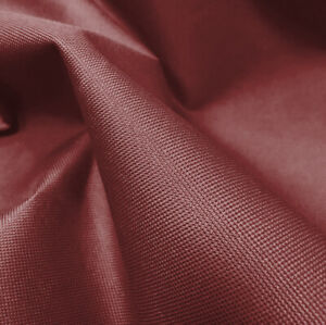 Maroon-Heavy-Duty-Thick-Waterproof-Canvas-Fabric-Outdoor-Cover-Sold-By-Metre