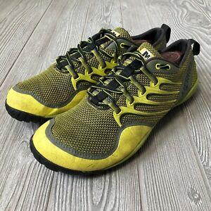 7bebe718a232c Details about Merrell Trail Glove Amazon Yellow Athletic Shoes Vibram Sole  Men's Size 10 S55