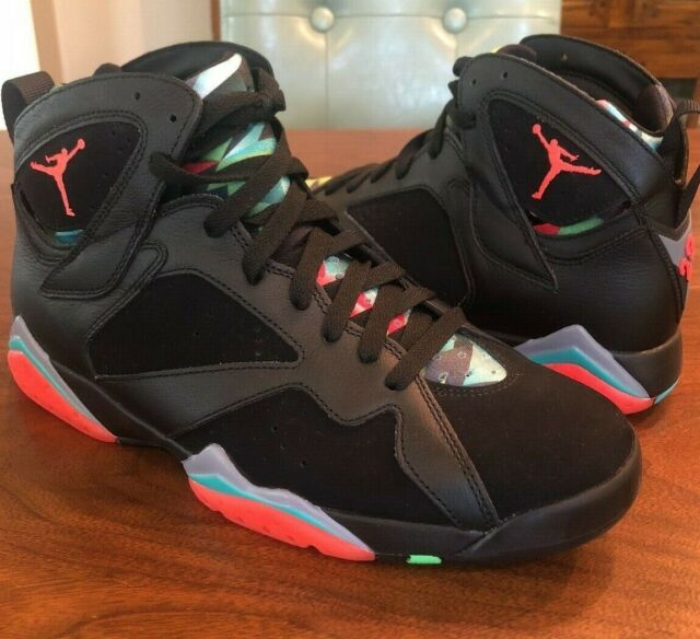 hot sale online 639c4 dabc5 Nike Air Jordan 7 Retro DS Mens Size 10.5 Barcelona Nights Black 705350 007