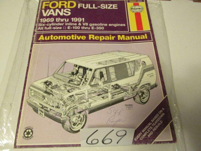 Haynes Ford Vans 1969