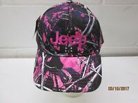Jeep Muddy Girl Camo Hat