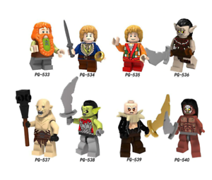 Minifigures The Lord of the Rings Strong Orcs Building Blocks Toys
