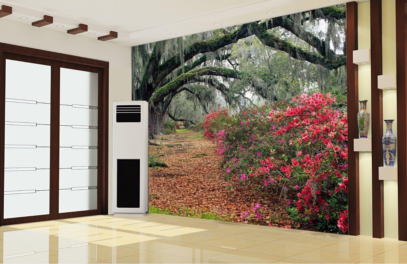 3D  Willow Garden 74 Wall Paper Murals Wall Print Wall Wallpaper Mural AU Summer