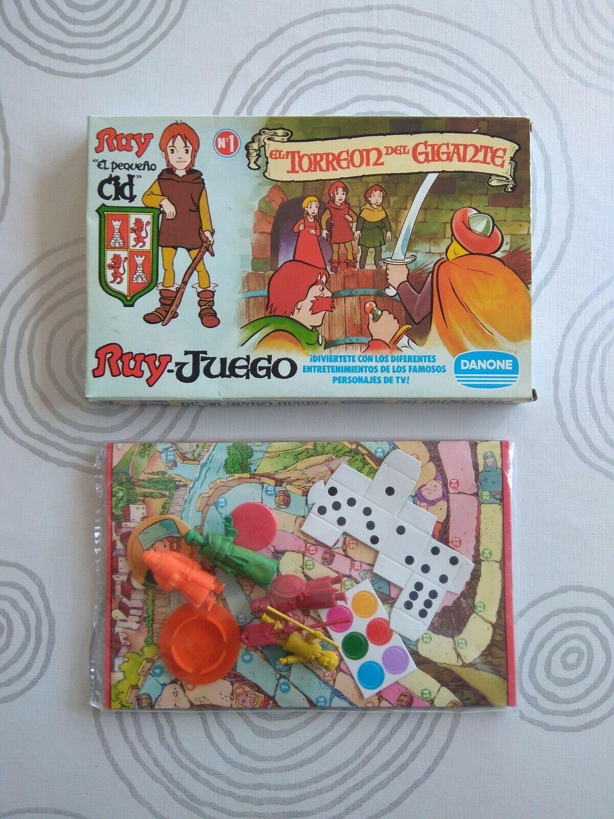 Dunkin ruy petit CID-Danone game no. 1  the heart of the Giant-unopened  magasin fait l'achat et la vente