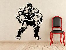 Hulk Wall Decal Superhero Comics Vinyl Sticker Art Decoration Murals (154z)