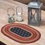 Primitive-Americana-Stenciled-Stars-Braided-Jute-12-034-x-18-034-Placemat thumbnail 3