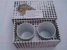 New NIB Set of 2 Votive Candle Holders in Gift Box by BLOOMINGDALES Home Decor