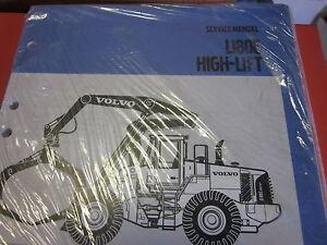 volvo l180e wheel loader service manual high lift ebay rh ebay com Volvo L90 Volvo L90E