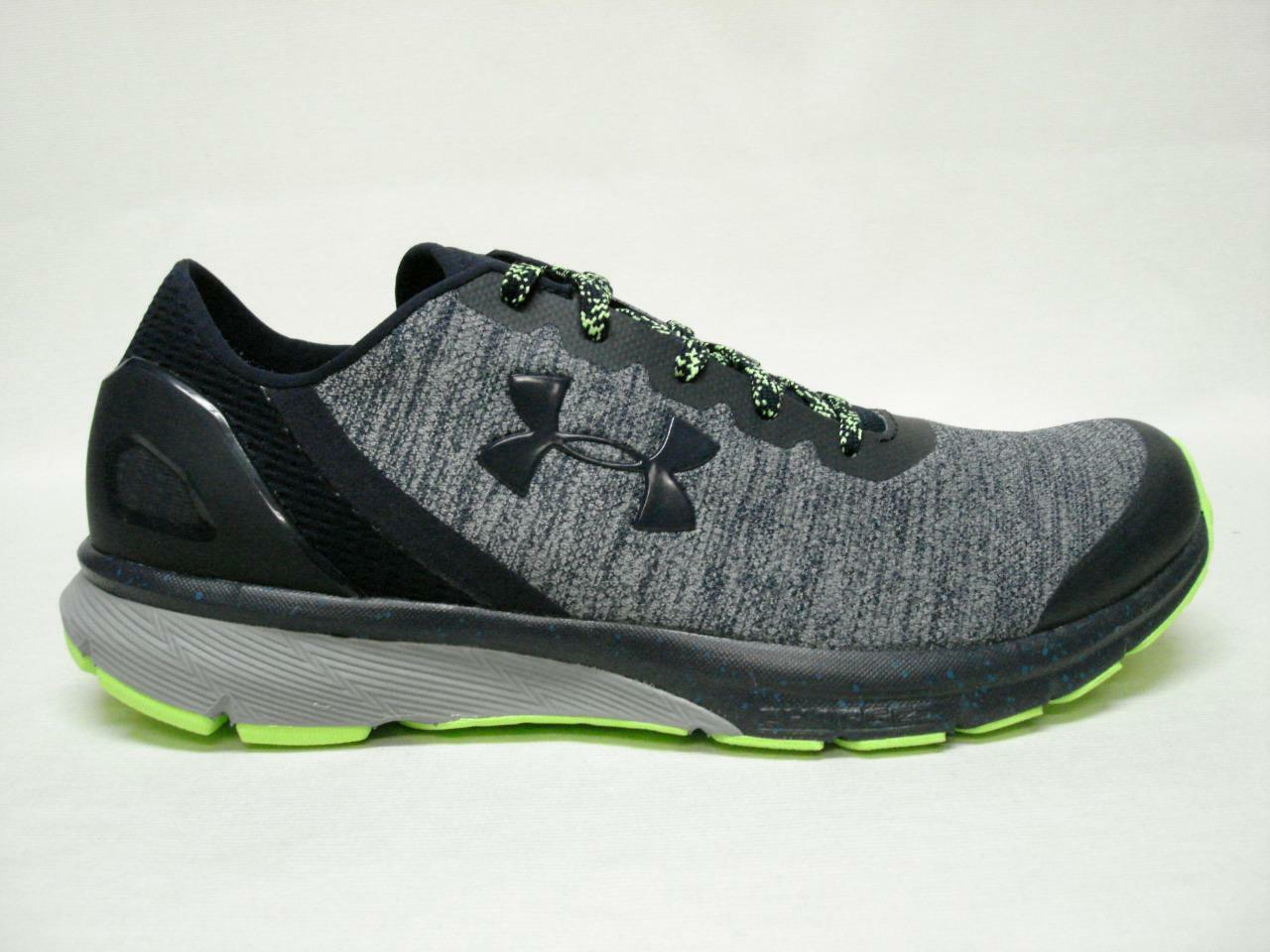 NIB UNDER ARMOUR MENS SHOE'S CHARGED ESCAPE MDN/RYL 9 AWESOME LOOKING SHOE'S